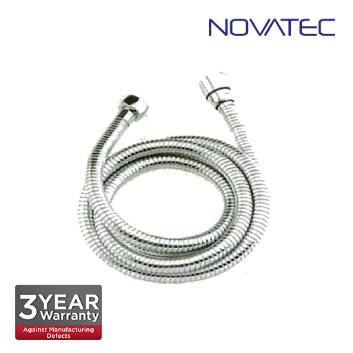 Novatec 1.2m Stainless Steel Flexible Hose A641
