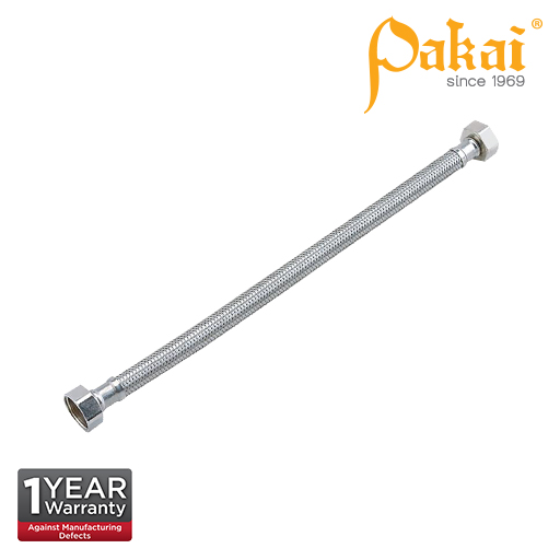 Pakai 12'' Stainless Steel Braided Hose DA650